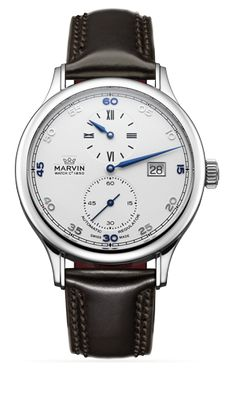 Marvin : Collections - Malton Round - Fine Swiss Watches Since 1850 - Luxury Swiss technology watch manufacturer
