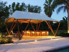 Pergola Above Garage Door Pergola With Roof, Diy Pergola, Gazebo, Cheap Pergola, Pergola Kits, Tent Design, Kiosk Design, Bamboo Structure, Shade Structure