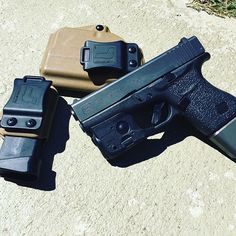 Glock 43 w/Streamlight TLR-6 IWB/AIWB Kydex Holster - ProfileLB Holster