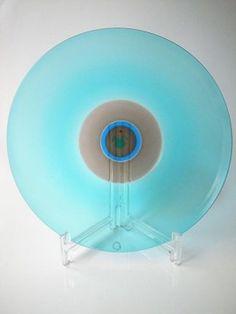 Tapio Wirkkala Murano Venini Glass Plate  http://femtrenoll.com/