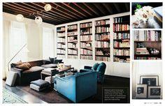 {BLACK. WHITE. YELLOW.}: Julia Leach's Apartment from Lonny Magazine