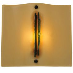 1 Light Metro Fusion Franco's Glass Wall Sconce