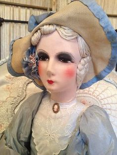 French boudoir doll
