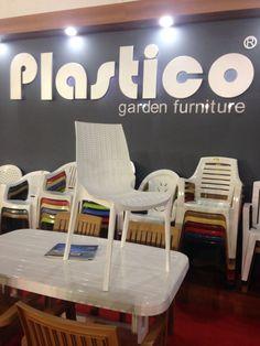 Plastico Armless Rattan Chair