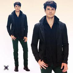 Quem não queria o friozinho pra apostar nesse look? #look #frio #brixjeanswear #estilo #inverno