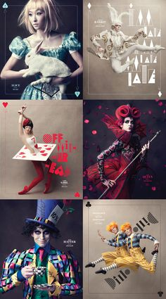 "The Washington Ballet's ""ALICE (in wonderland)"" - Design Army Photography by Dean Alexander"