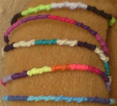 Chinese Staircase friendship bracelet
