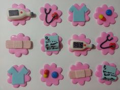 Medical Cupcake Toppers