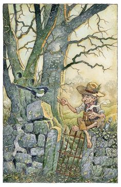 Care for a Biscuit? Art by David Wyatt.