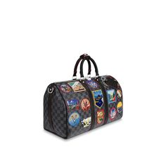 View 2 - Damier Graphite Canvas TRAVEL ALL COLLECTIONS Keepall 45  b11a6d478079a