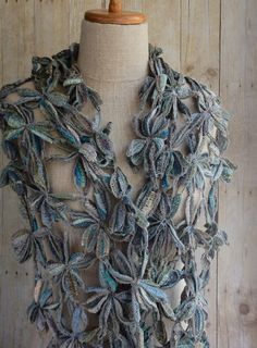 """Sophie Digard – """"Lily"""" linen scarf"""