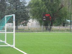 Le stade Ernest #Pigneguy, à #Voreppe (38) est équipé d'un tableau d'affichage sportif #Bodet BT2025 Classic. http://www.bodet-sport.com/tableaux/bt2025-classic.html