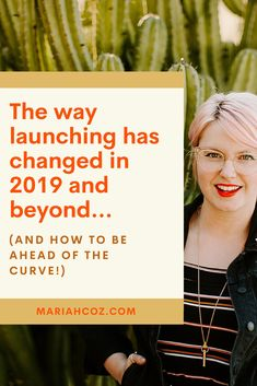 Learn the way launching has changed in 2019 and beyond (and how to be ahead of the curve!) Plus, the only 3 things you need to do in your course launch for it to be a success. #onlinecoursetips #digitalmarketing #mariahcoz