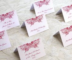 What Are Escort Cards? | WeddingLovely Blog