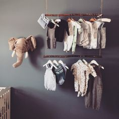 Home Decoration Crafts 20 Genius Ways To Baby Closet Organizer Without Closet Baby Bedroom, Baby Room Decor, Nursery Room, Kids Bedroom, Baby Closet Organization, Organization Hacks, Smart Outfit, Baby Room Design, Easy Home Decor