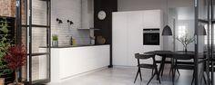 Senti-kjøkken – push open-funksjon - Kvik.no
