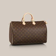 9664540f7c7c Speedy 40 - Louis Vuitton - LOUISVUITTON.COM I really want this bag. I