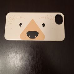 iPhone 5/5s polar bear face case perfect condition & so cute! Accessories Phone Cases