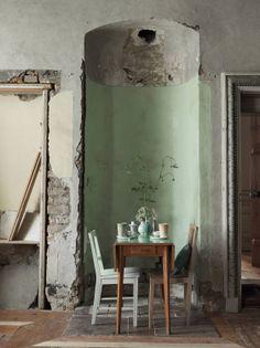 Interiors - Petra Bindel - LINKdeco stove nook, now dining nook