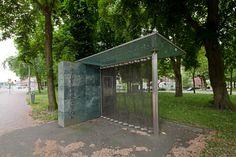 Videopaviljoen Bus Stop / Video Pavilion Bus Stop ( OMA )