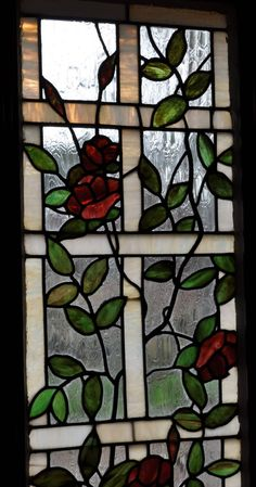 Vintage Stained Glass | thecottageatroosterridge