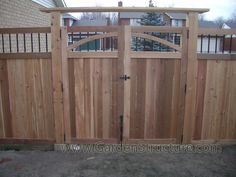 Simple Privacy Fence Gate Ideas Httpwwwgardenstructurecom A To Design