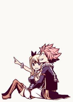 Fairy Tail. Natsu & Lucy.