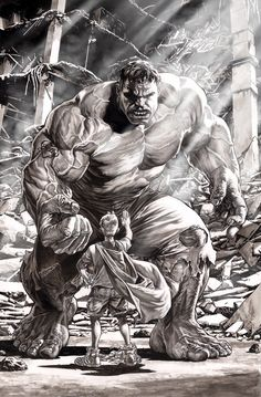 """Hulk by Lee Bermejo ✮✮Feel free to share on Pinterest"""" ♥ღ www.UNOCOLLECTIBLES.COM"""