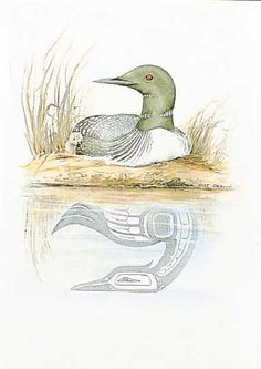 Loons sing to each other. My favorite place on the side of my favorite lake, late evening while they talk back and forth to each other.