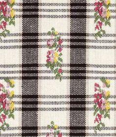 Robert Allen Picnic Spread Caviar Fabric - $59.98 | onlinefabricstore.net