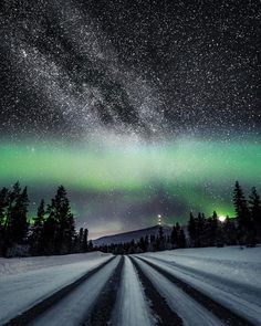 Wonders of the night sky, by Timo Oksanen Productions