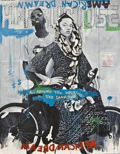 Artists — An Atlanta Georgia Contemporary Art Gallery African American Artist, African Artists, Famous Black Artists, Harlem Renaissance Artists, Collages, Atlanta Georgia, Magazine Art, Contemporary Paintings, Artist At Work