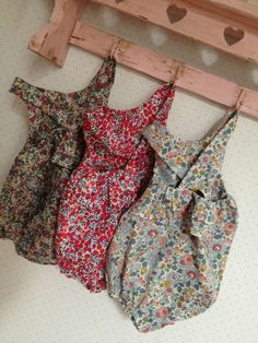 baby rompers in liberty