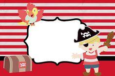 Kit para Festas - Pirata Menino