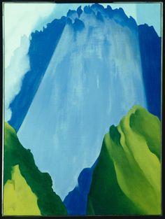Georgia O'Keeffe: Peru - Machu Picchu, Morning Light, 1957 Georgia Okeefe, Machu Picchu, Georgia O'keefe Art, Georgia O Keeffe Paintings, Pop Art, New York Art, Illustration, Art Institute Of Chicago, Fine Art