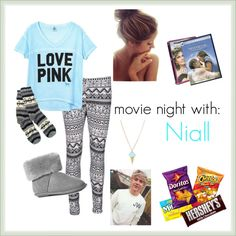 """""""#1 One Direction Date Outfit-Niall"""" by directioner975 ❤ liked on Polyvore"""