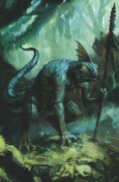 Skinks of Lustria Fantasy Battle, Fantasy Races, Fantasy Rpg, Fantasy Artwork, Dark Fantasy, Lizardmen Warhammer, Warhammer 40k Art, Total Warhammer, The Elder Scrolls