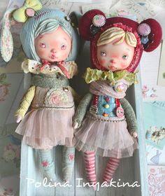 Зайка продана! #пуговки#малышки#маленькиекуколки
