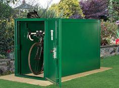 Secure Bike Storage Shed - Asgard 2-Bike Locker Store