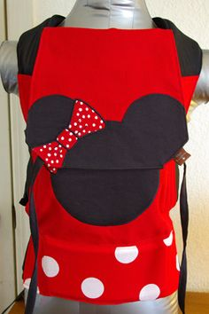 Bloo Kangaroo Minnie Mouse custom. So cute for a little girl!