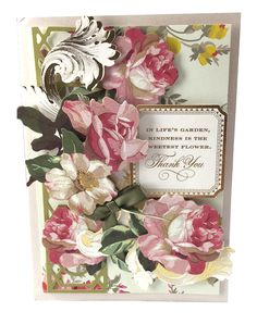 Anna Griffin Favorite Flowers 3D Stickers