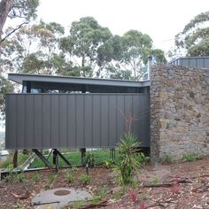 True Blue Roofing Geelong specializes in metal wall cladding which can quickly transform any wall. They are also experts in all aspects of roofing. Roof Cladding, Metal Cladding, Exterior Cladding, Wall Cladding, Building Exterior, Building Design, Blue Roof, Fibreglass Roof, Shed Homes