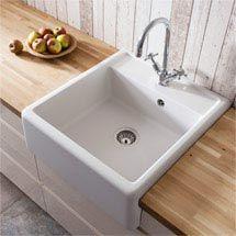 Crosswater - Cucina Belgravia Semi Inset Belfast Kitchen Sink - KS_BL5963CW Medium Image