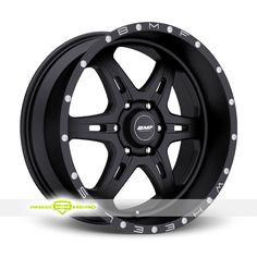 BMF FITE 6 Black Wheels For Sale- For more info: http://www.wheelhero.com/customwheels/BMF/FITE-6-Black