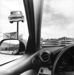 "Exhibition: 'Lee Friedlander - America by Car' at Foam, Amsterdam. ""Lee Friedlander is one of the greatest photographers that has ever lived. Lee Friedlander, Robert Frank, Walker Evans, Aberdeen, Stephen Shore, William Eggleston, Fondation Cartier, Elle Mexico, Montana"