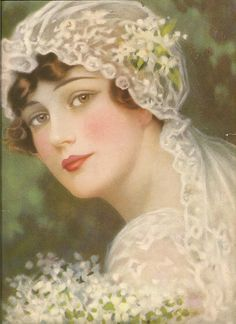 Beautiful Vintage Bride...
