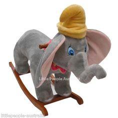 Image detail for -Disney Dumbo Elephant Rocking Horse Rocker