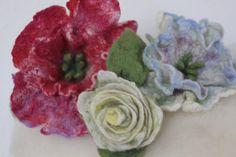 Filzblüten | KERSTIN WAIZENEGGER | Flickr