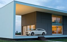 mercedes-benz-cls-shooting-brake-with-modern-house