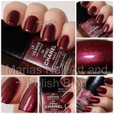 Chanel Spirale swatches - my Chanel swatch #100